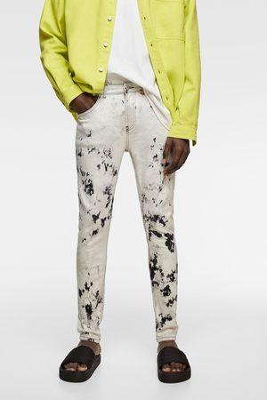 Zara Skinny tie-dye jeans