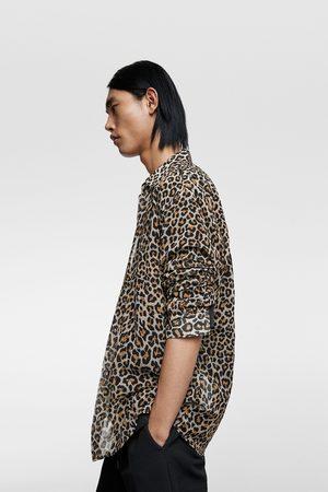 Zara Overhemd met dierenprint