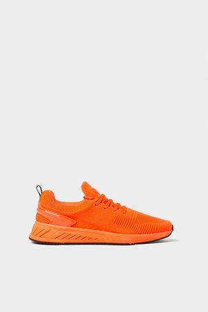 Zara Heren Sneakers - Fluor soft sneakers