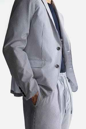 Zara Seersucker blazer