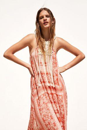 Zara Combi-jurk met print