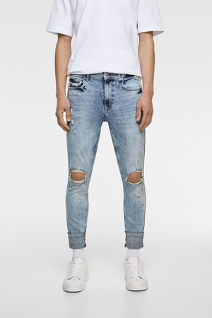 Zara Heren Skinny - Skinny jeans met banden