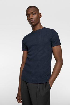 Zara Heren Shirts - Ribshirt in muscle fit