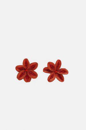 Zara Oorbellen met bloem