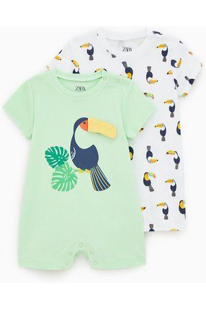 Zara Baby Pyjama's - Set van twee pyjama's met toekan