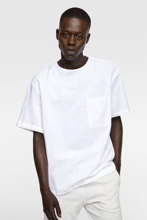 Zara Linnen combi-shirt