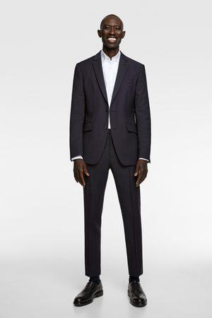Zara Wollen broek met textuur