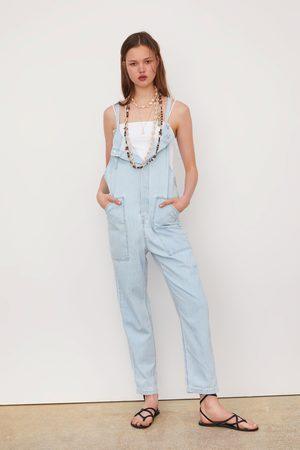 Zara Lange jumpsuit met zakken