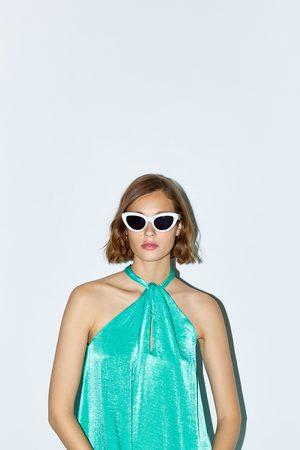 Zara Dames Halterjurken - Zijdeachtige halterjurk