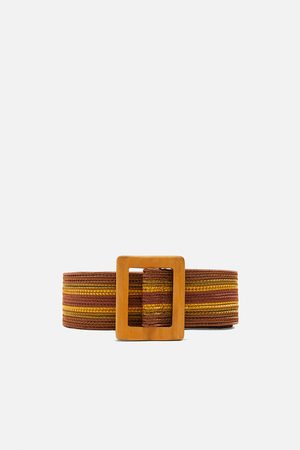 Zara Striped belt