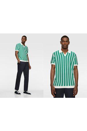 Zara Heren Poloshirts - Poloshirt met verticale strepen