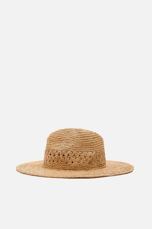 Zara Raffia hoed
