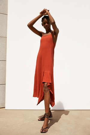 Zara Asymmetrische jurk