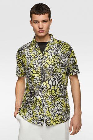 Zara Tricot overhemd met dierenprint