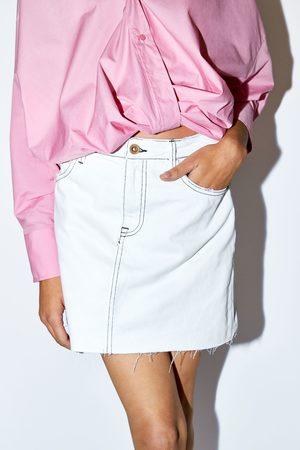 Zara Rok met contrasterend garen