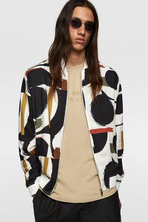 Zara Heren Jacks - Jack met geometrische print