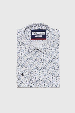 Zara Easy care overhemd met bloemenprint