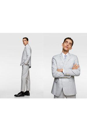 Zara Heren Blazers & Colberts - Geruite kostuumblazer