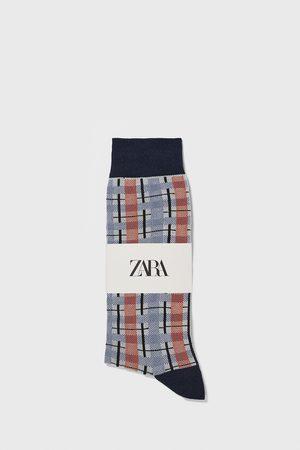 Zara Heren Sokken & Kousen - Check jacquard socks