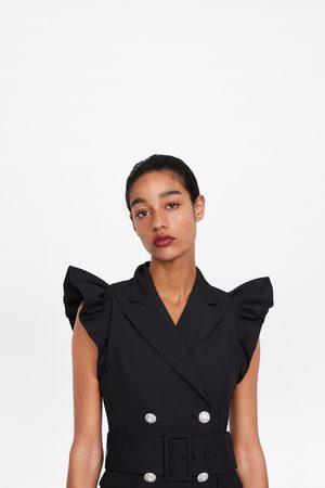Zara Dames Gilets - Gilet-jurk met volants