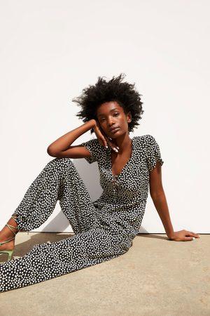 Zara Dames Jumpsuits - Jumpsuit met print
