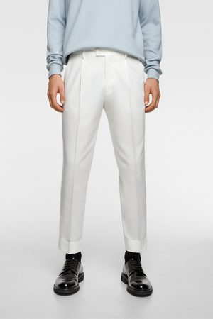 Zara Heren Pantalons - Bandplooibroek