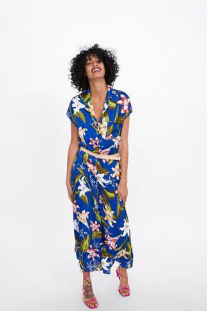 Zara Jumpsuit met bloemenprint