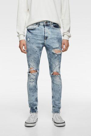 Zara Heren Skinny - Skinny jeans met scheuren