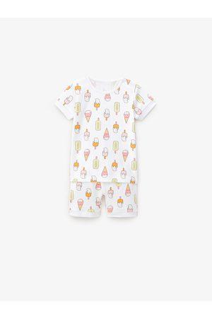 Zara Tweedelige pyjama met ijsco