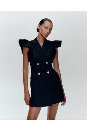 Zara Gilet-jurk met volants
