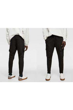 Zara Denim broek soft met biesjes