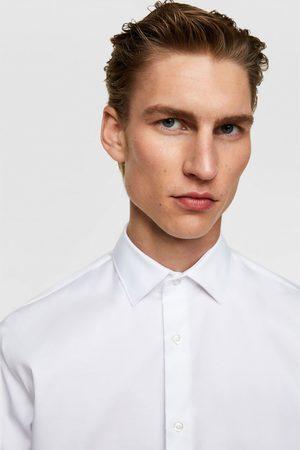 Zara Kreukvrij overhemd met structuur