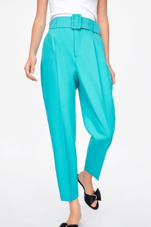 Zara Belted trousers