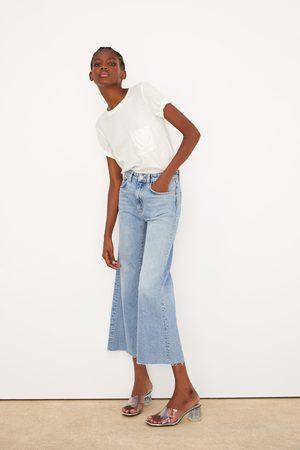 Zara Dames Bootcut - Wide-leg jeans