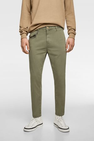 Zara Heren Chino's - Chinobroek in new cropped
