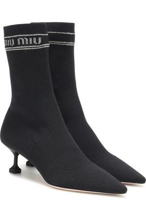 Miu Miu Dames Laarzen - Sock boots