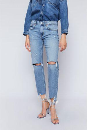 Zara Jeans zw premium slim boyfriend beach blue