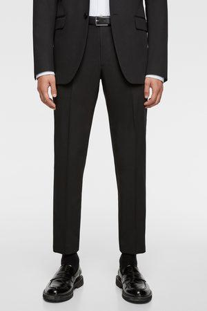 Zara Heren Pantalons - Comfortabele cinzato kostuumbroek