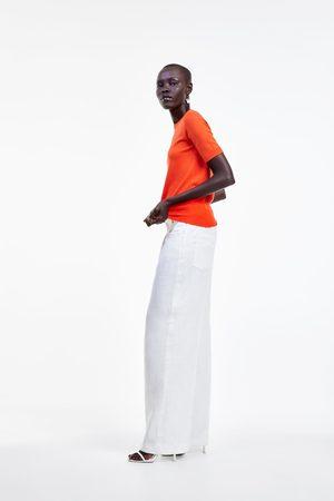 Zara Dames Wijde broeken - Wide-leg trousers