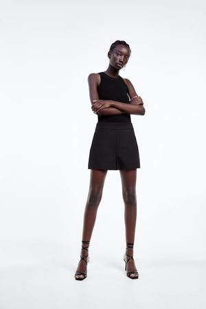 Zara Dames Shorts - Short met hoge taille