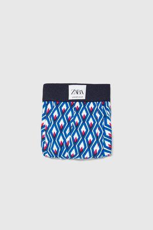 Zara Boxershort met geometrische print