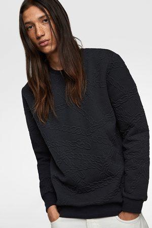 Zara Gewatteerd sweatshirt met kettingen