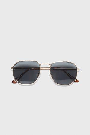Zara Heren Zonnebrillen - Zonnebril met geometrische montuur