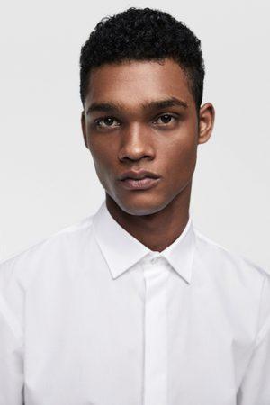 Zara Heren Overhemden - Overhemd met knooprand