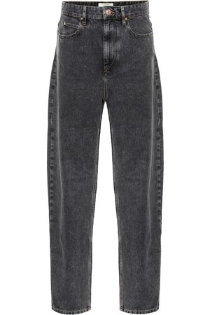 Isabel Marant Corsey high-rise straight jeans