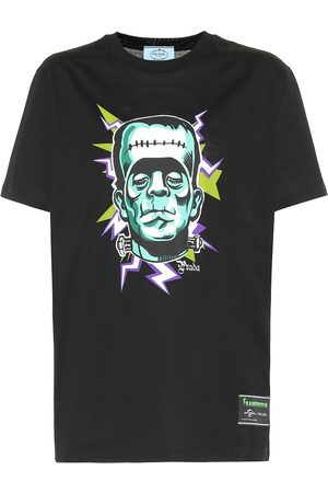 Prada Frankenstein cotton T-shirt
