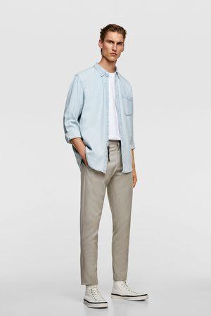 Zara Heren Pantalons - Broek met structuur