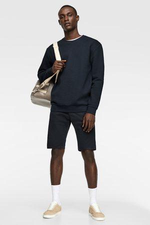 Zara Gewatteerd sweatshirt met geometrische motieven