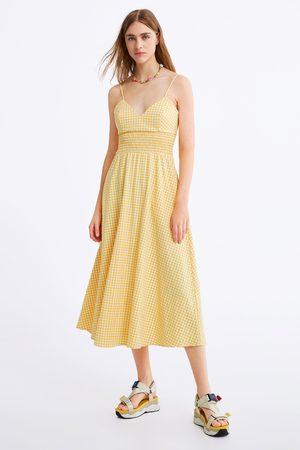Zara Rustieke jurk met vichy ruit