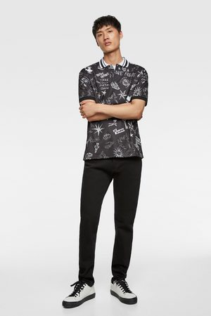 Zara Heren Poloshirts - Polo met print